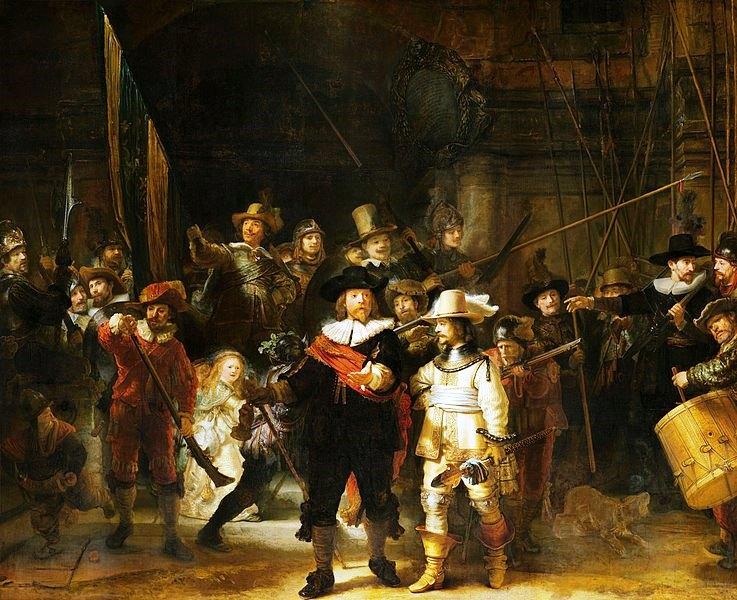Rembrandt-LaRondeDeNuit